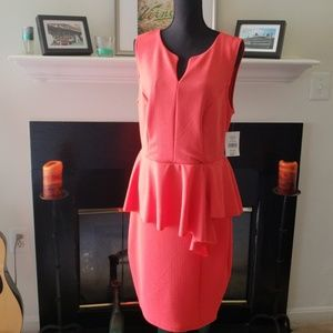 Fashion to Figure Sleeveless Peplum Dress
